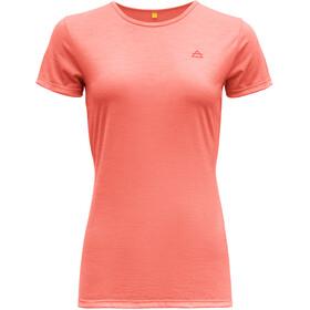 Devold Valldal Camiseta Mujer, naranja